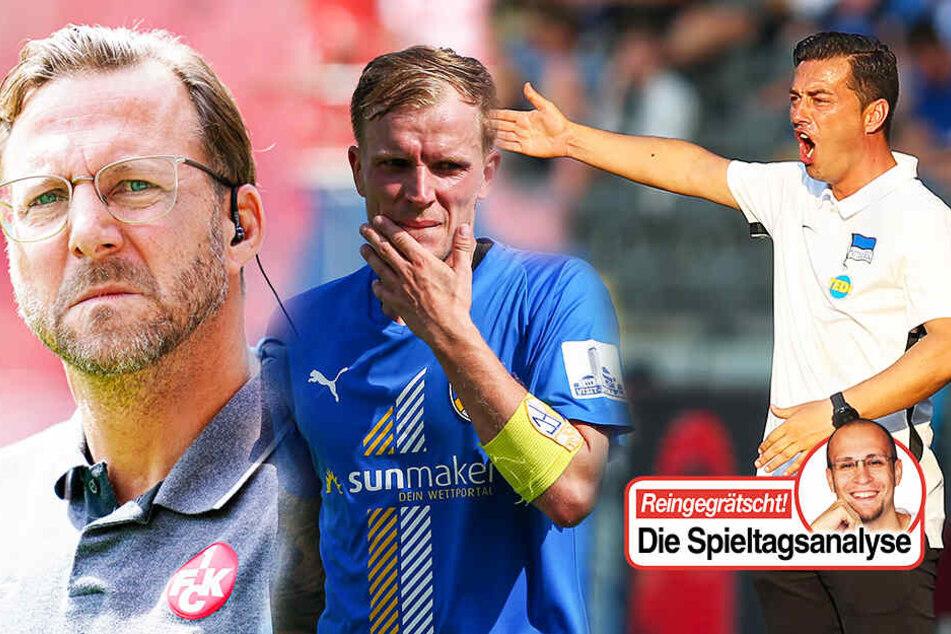 Traditionsvereine in der Krise! Hertha BSC und Kaiserslautern verpatzen den Saisonstart