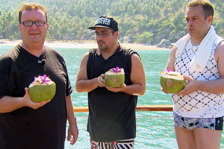 Beates Liebesritter mit ihren Kokosnüssen. Nur einer konnte ihr Herz gewinnen.
