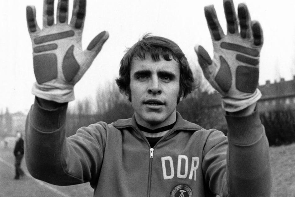 """Croy war als Torwart so erfolgreich, dass er dreimal zum """"DDR-Fußballer"""" gewählt wurde."""