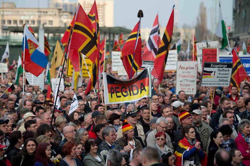 "Das neue Bündnis ""Dresden.Respekt"" stellt sich gegen Pegida."