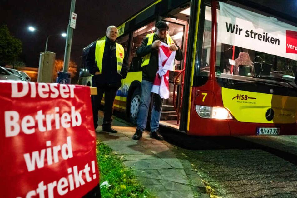Busfahrer-Streik in Frankfurt und Hessen vom Tisch: Schlichtung ist erfolgreich