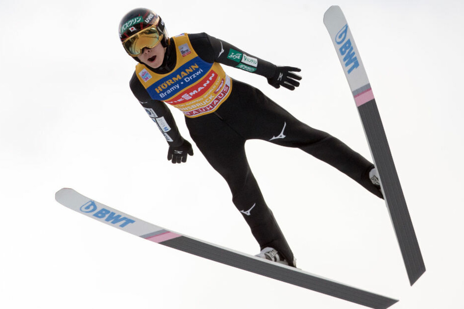Ryoyu Kobayashi gehört zu den Favoriten der Vierschanzentournee. (Archiv)