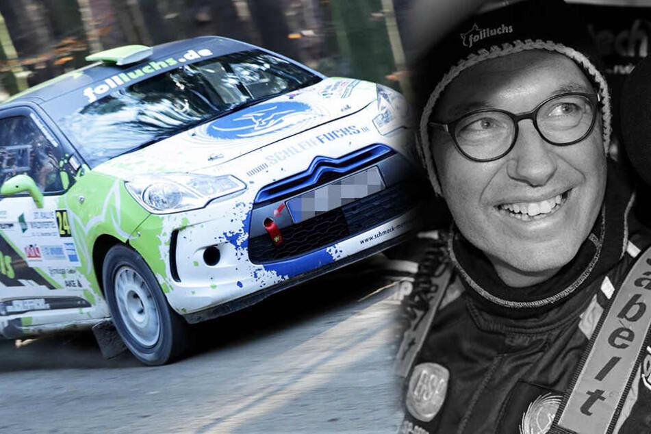 Kai Günther (†48) kam am Freitag bei der Sachsen-Rallye ums Leben.