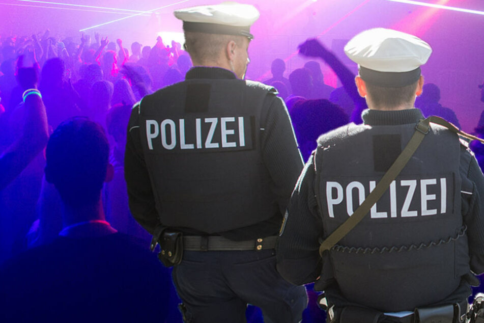 In dem leerstehenden Gebäude auf dem Bahngelände trafen die Beamten auf rund 300 Partygäste. (Symbolbild)