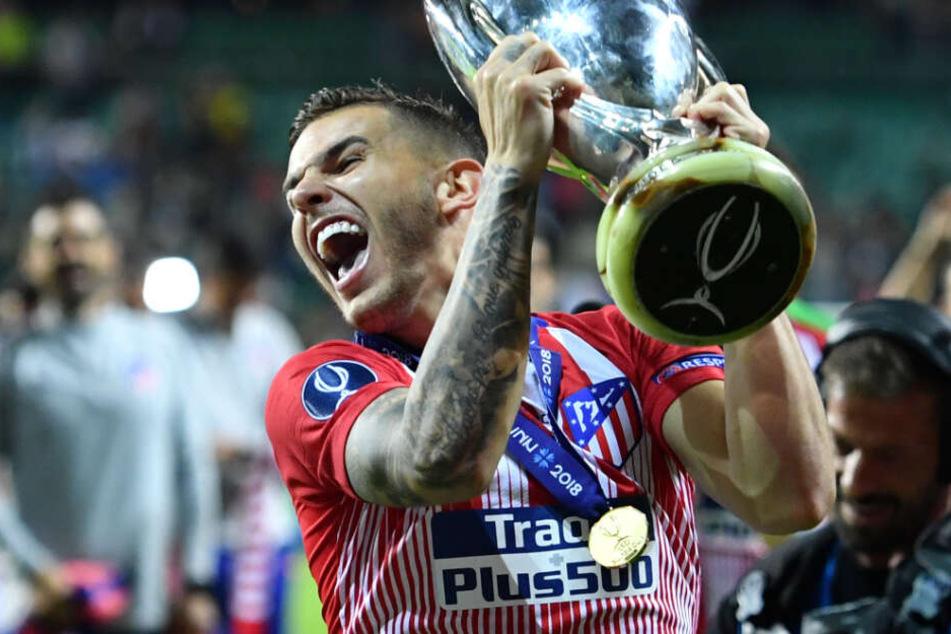 Lucas Hernández wechsel für 80 Millionen Euro von Atlético Madrid zum FC Bayern München.