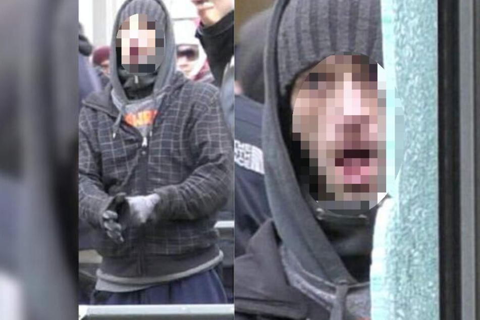 Der 32-Jährige konnte nicht leugnen, dass er die abgebildete Person ist und stellte sich bei der Polizei.