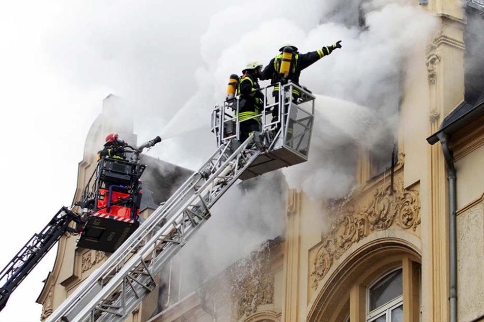 Bei diesem Brand starben zwei Menschen.