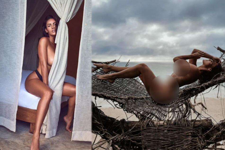 Instagram model posts a nude, but one small detail kicks up a storm