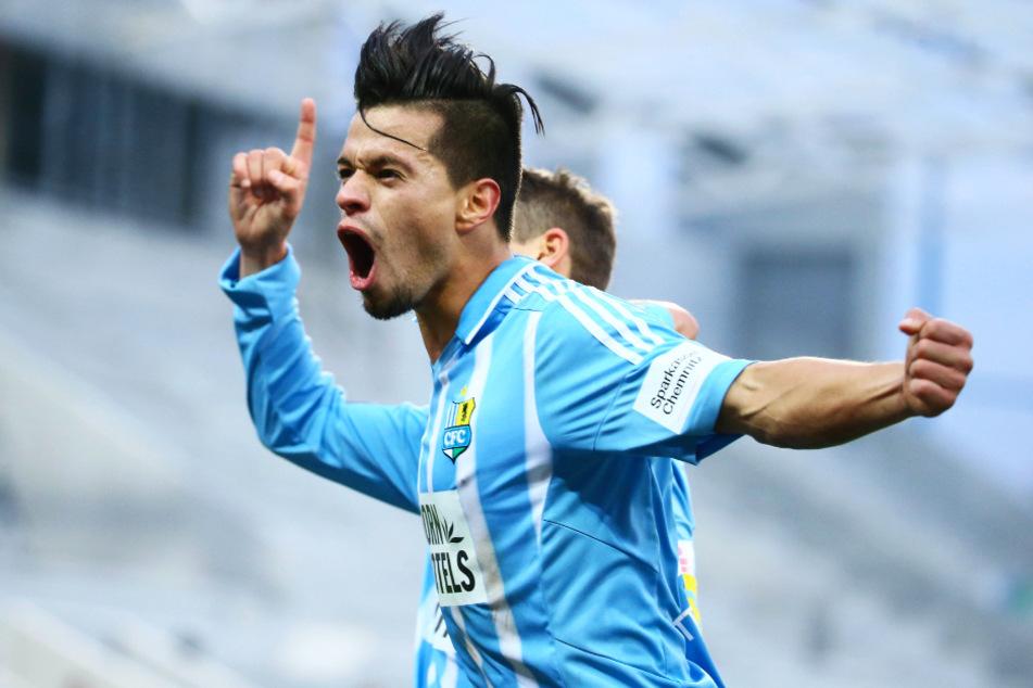 """Stefano """"Chico"""" Cincotta (29) durfte sechs eigene Tore für den CFC in 68 Einsätzen bejubeln."""