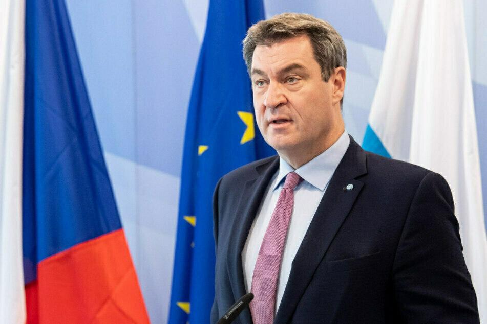 Bayerns Ministerpräsident Markus Söder (54) spricht sich für die komplette Rückgabe der Freiheitsrechte Geimpfter aus. (Archiv)