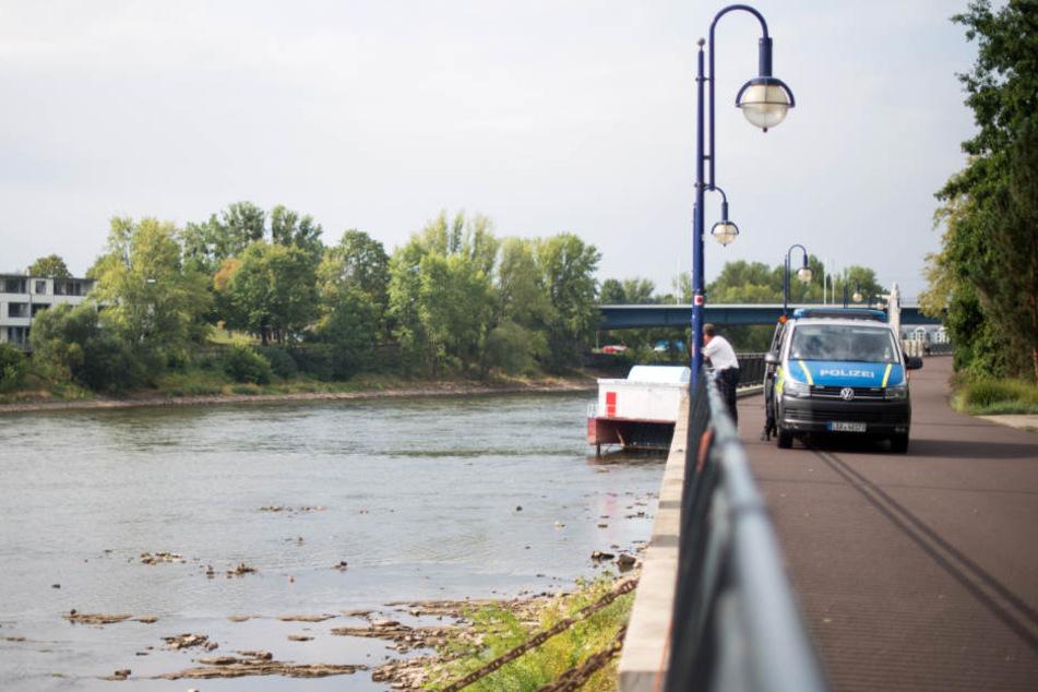 Der Mann trieb leblos am Westufer der Elbe in Höhe Westerhüsen. (Symbolbild)