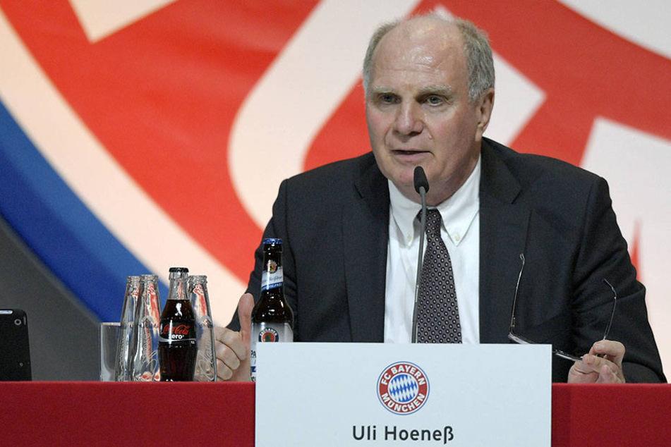 Uli Hoeneß (64) hat mit RB Leipzig ein neues Feindbild gefunden.