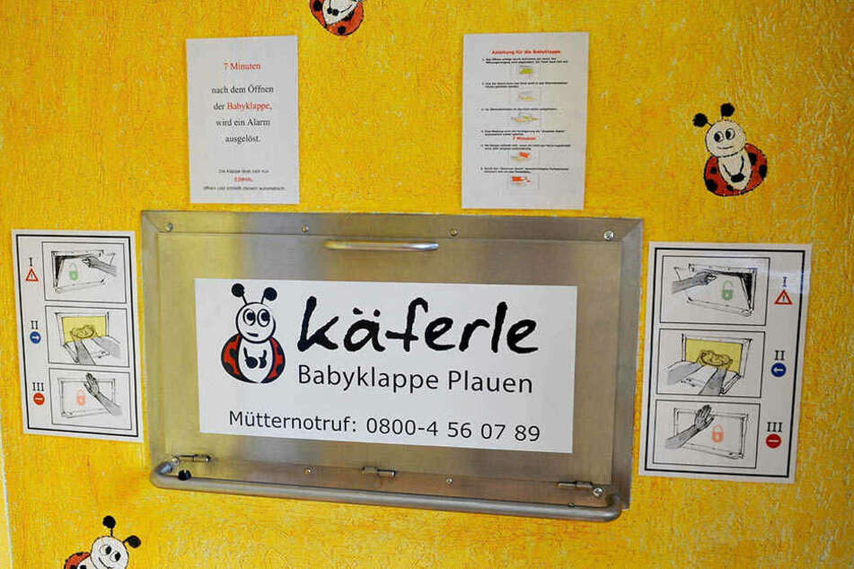 Die nächstgelegene Babyklappe befindet sich in Plauen.