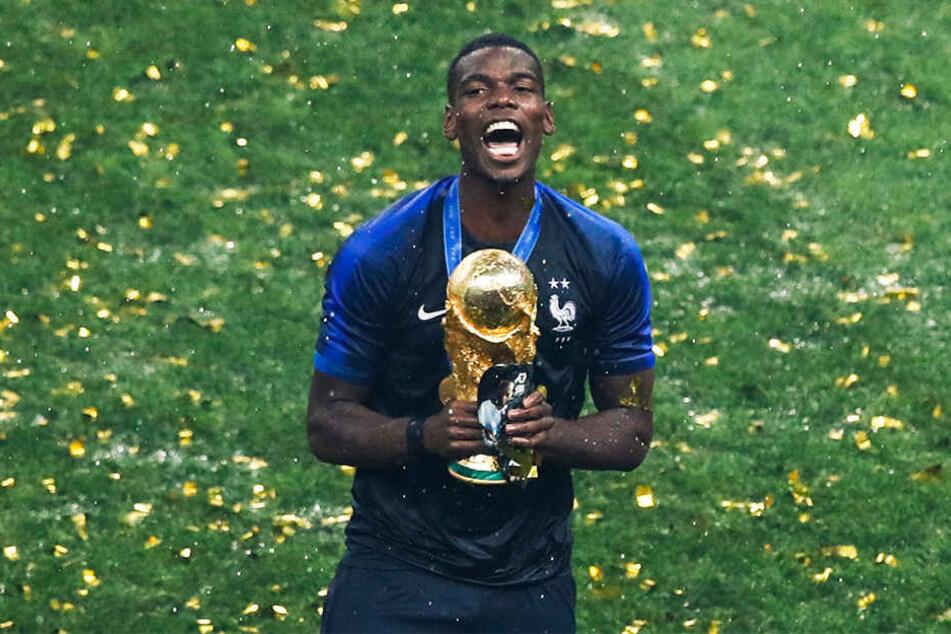 Der Bruder von Mathias ist weltberühmt: Paul Pogba wurde erst vor wenigen Wochen Weltmeister mit Frankreich.
