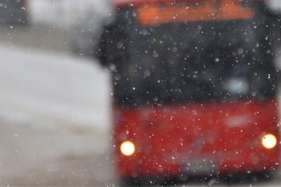 Kälte und Straßenglätte wurden dem Bus zum Verhängnis (Symbolbild).