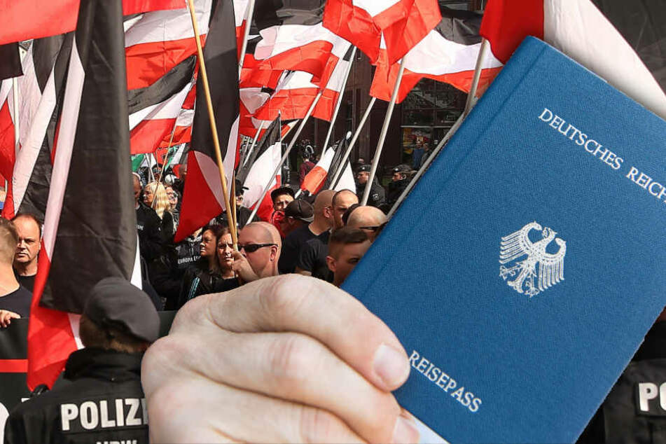 Auch im Nachbarland Brandenburg kämpfen die Behörden gegen Reichsbürger. Dort sind bereits 600 bekannt. (Bildmontage)