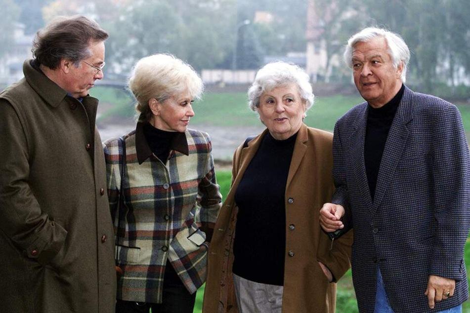 Die Paare im Jahre 2001.