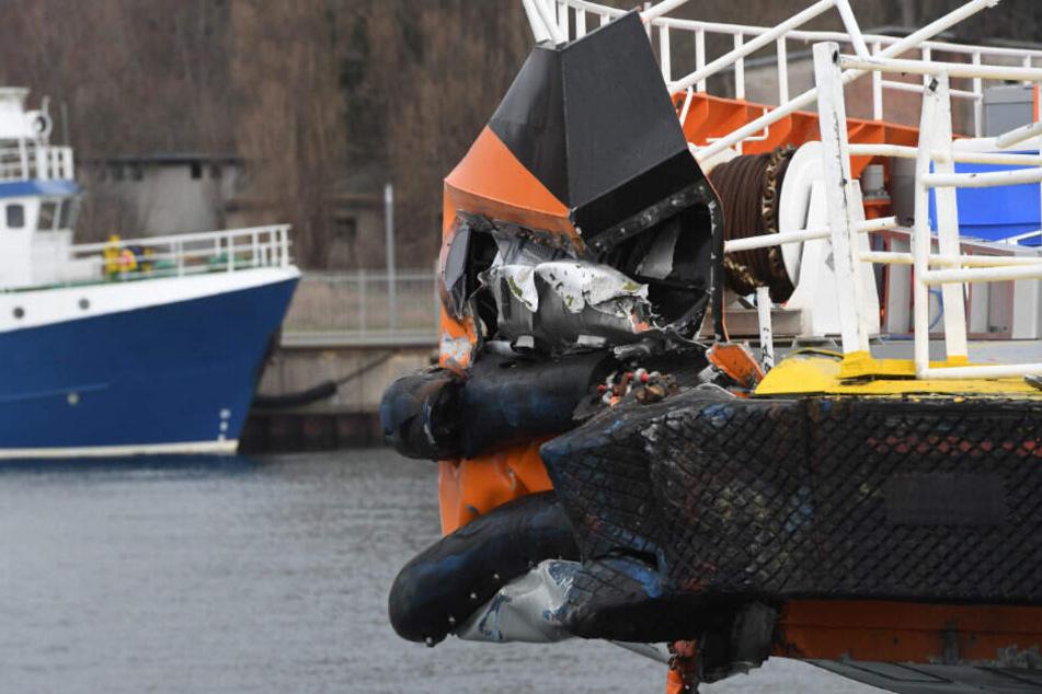 Zwei Schiffe vor Rügen zusammengestoßen: Zehn Schwerverletzte