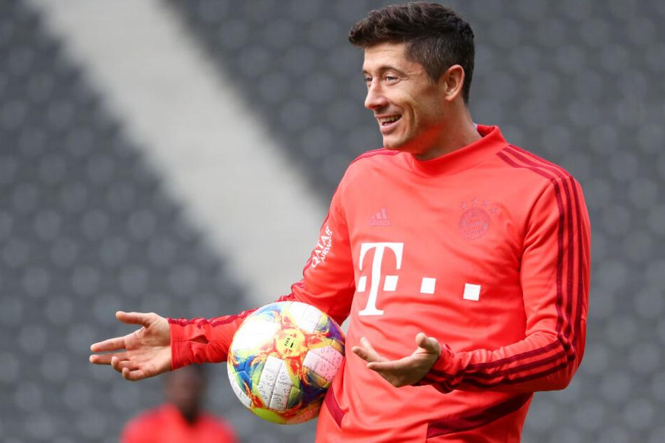 Robert Lewandowski und der FC Bayern München haben eine wichtige Woche vor sich.
