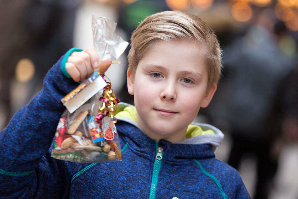 Thor wollte für die Aktion sogar auf ein Weihnachtsgeschenk verzichten.