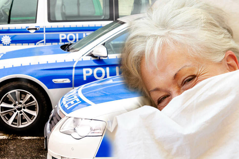 Die vermisste Frau hatte sich die Decke über das Gesicht gezogen - und wiurde nciht erkannt.