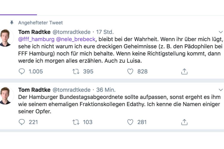 Tom Radtke wirft der SPD vor, dass in ihren Reihen ein mutmaßlicher Sexualstraftäter sitzt.