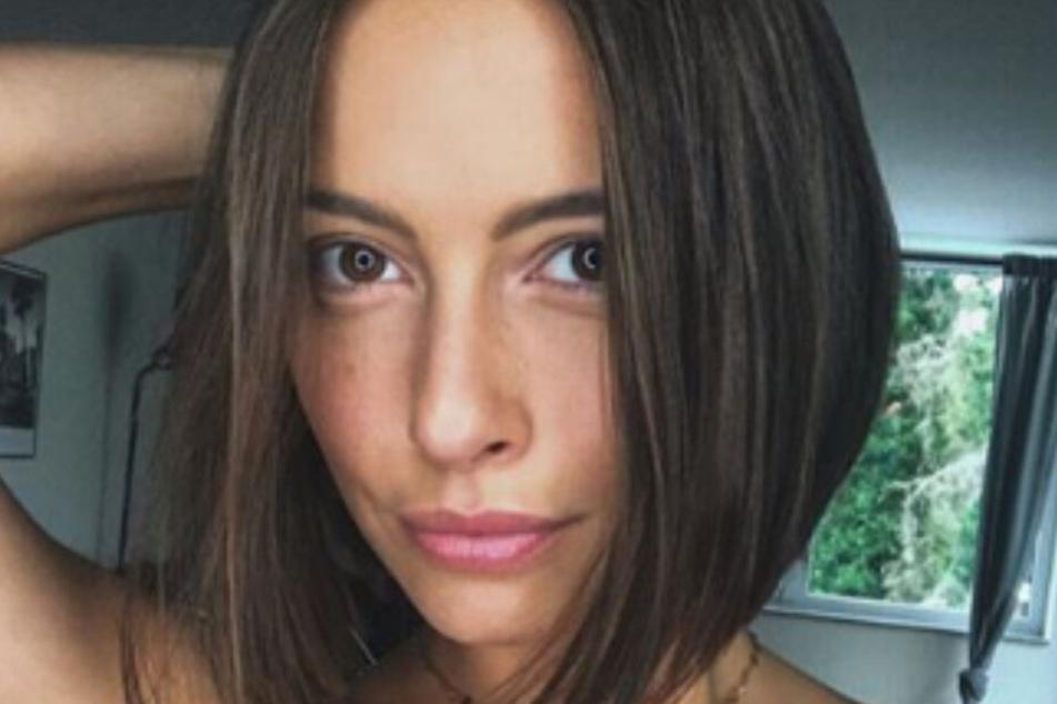 Jennifer Lange (26) postet das Ergebnis ihres Friseurbesuchs auf ihrer Instagram-Seite.