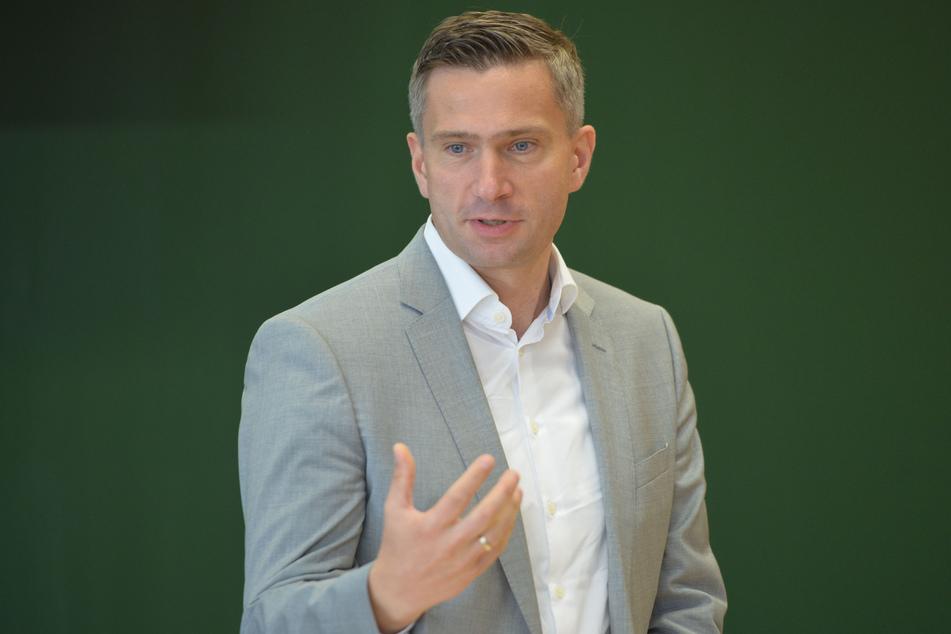 Wirtschaftsminister Martin Dulig (46, SPD) hatte sich mit Mitarbeitern und der Geschäftsführung des Kaufhauses zu einem Gespräch getroffen (Archivbild).