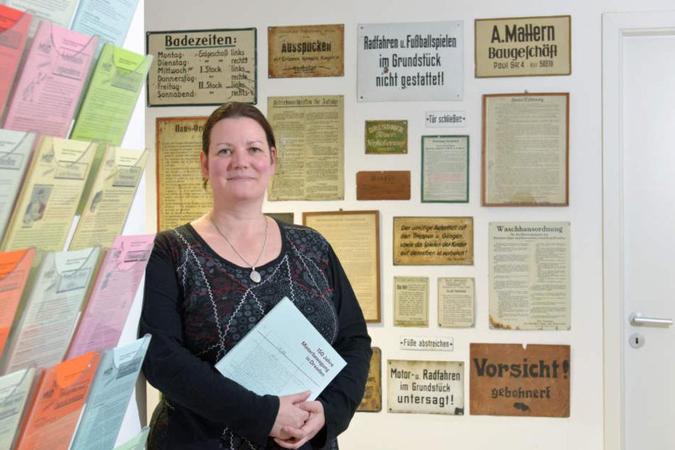 Rechtsberaterin Katrin Kroupova (44) vom Dresdner Mieterverein.