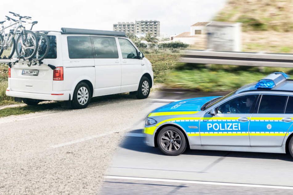 Auf A4-Rastplatz: Autodiebe machen Rechnung ohne Transporterfahrer