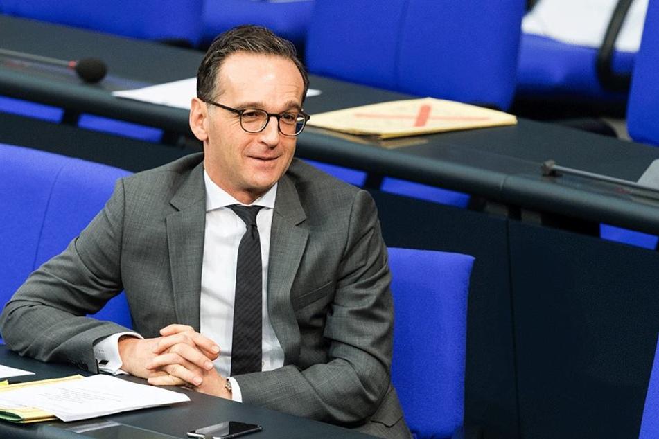 """Jusitizminister Heiko Maas (SPD) hat auch an sogenannten """"Vorwärts-Gesprächen"""" teilgenommen, will aber von gezahltem Geld nichts gewusst haben."""