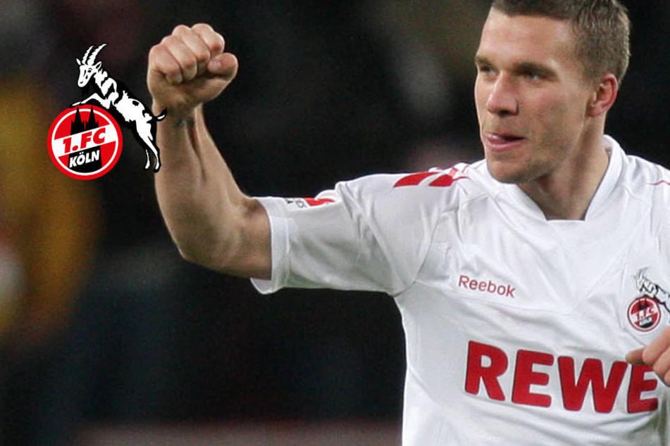 FC-Boss Wehrle deutet Rückkehr von Lukas Podolski an