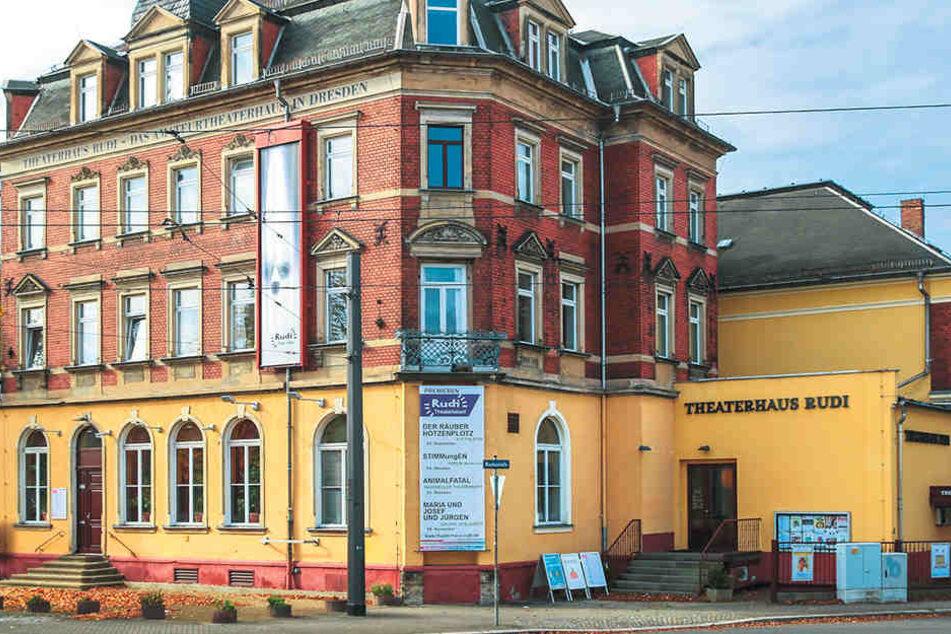 Kulturbanausen! Im Theaterhaus Rudi trieben sich Einbrecher herum.