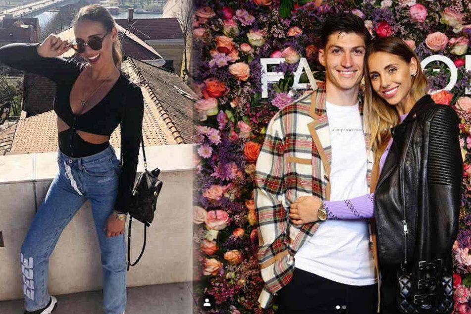 Mira Zuber (26) und ihr Mann Steven.