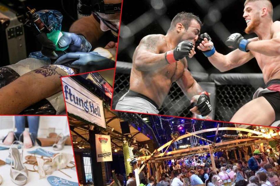 MMA Championsship oder Tattoos für den guten Zweck: Am Samstag ist viel los in Hamburg!
