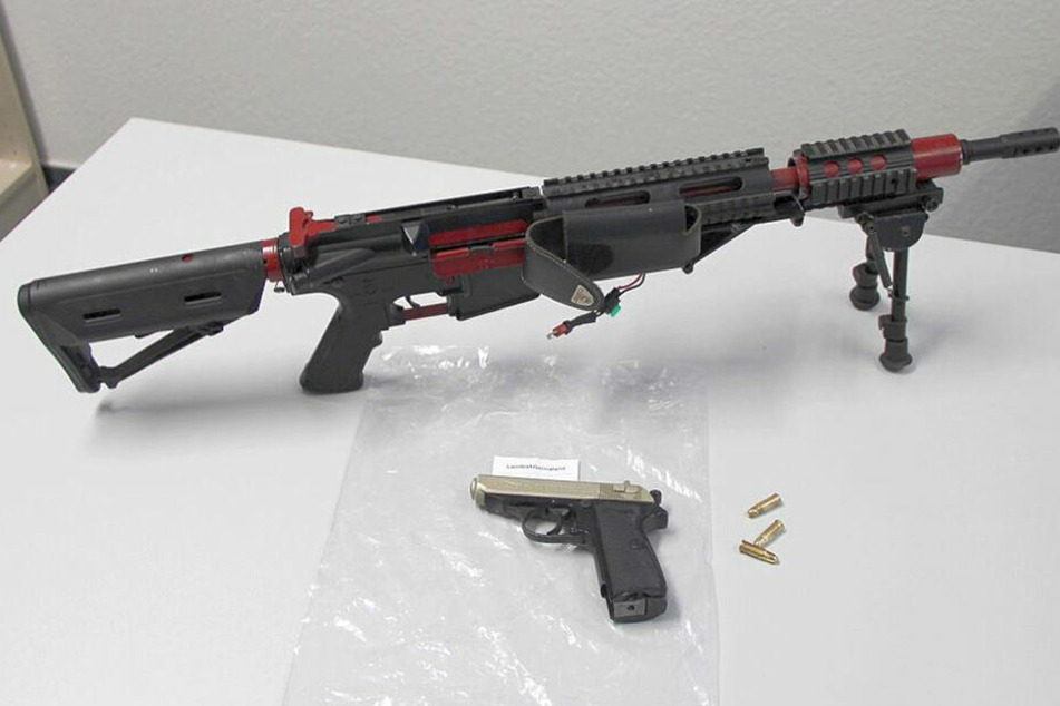 Diese Waffen wurden sichergestellt.
