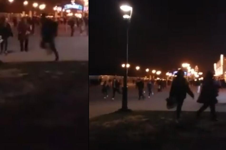 Massenpanik im Disneyland! Mehrere Verletzte nach vermeintlichen Schüssen