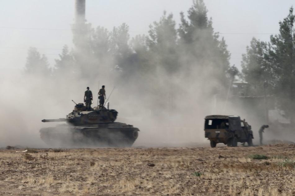 Türkische Panzer in Nordsyrien (Symbolbild).