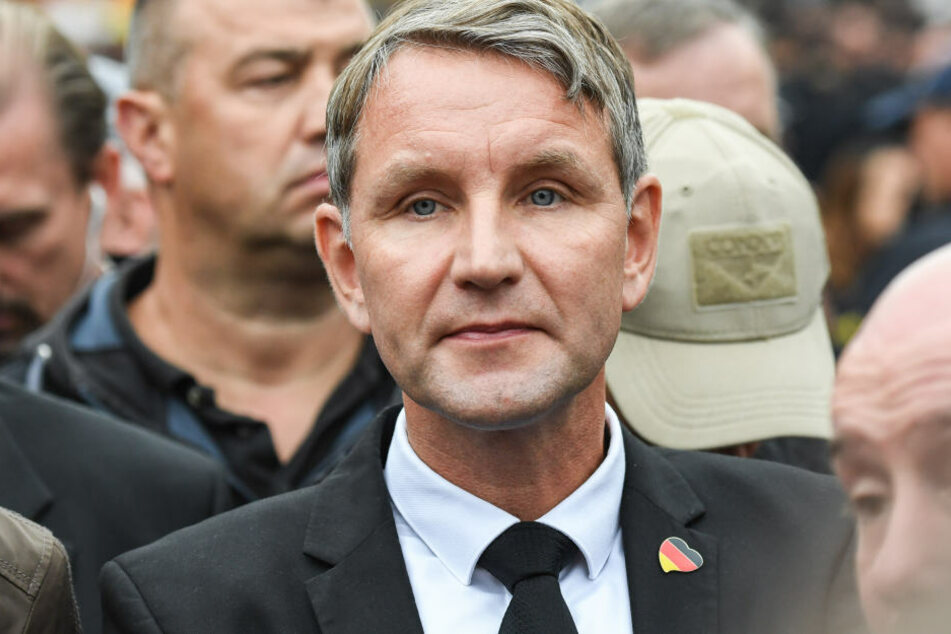 Björn Höcke könnte am Wochenende ungewollten Besuch bekommen.