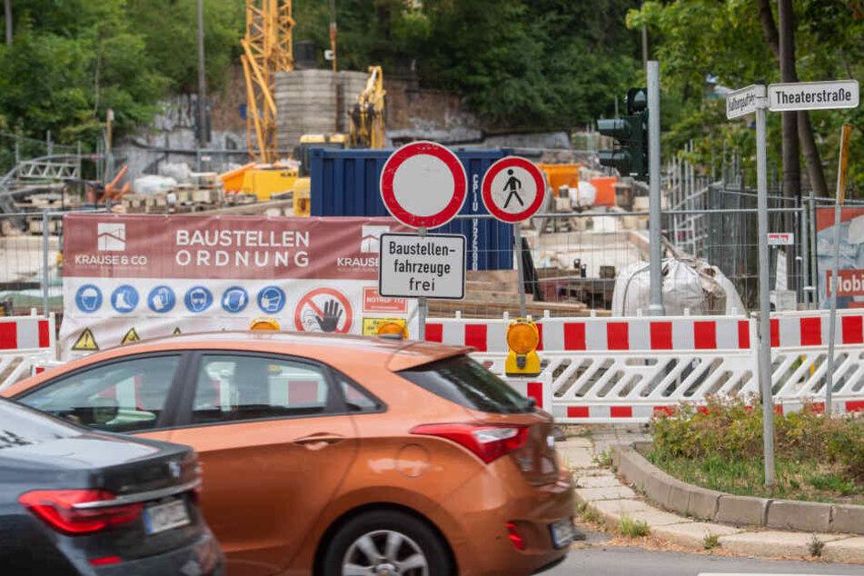 Chemnitz ab Montag mit noch mehr Vollsperrungen