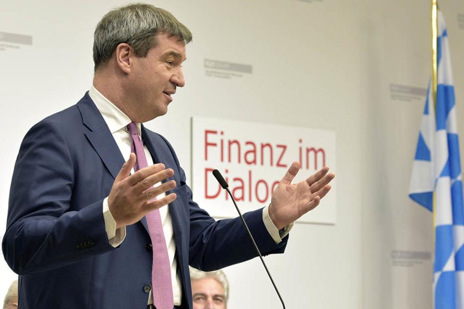 Der bayrische Finanzminister Markus Söder (50) empfindet die Kosten als zu hoch.