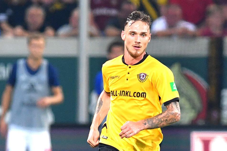 Linus Wahlqvist will in die Bundesliga, vorrangig mit Dynamo!