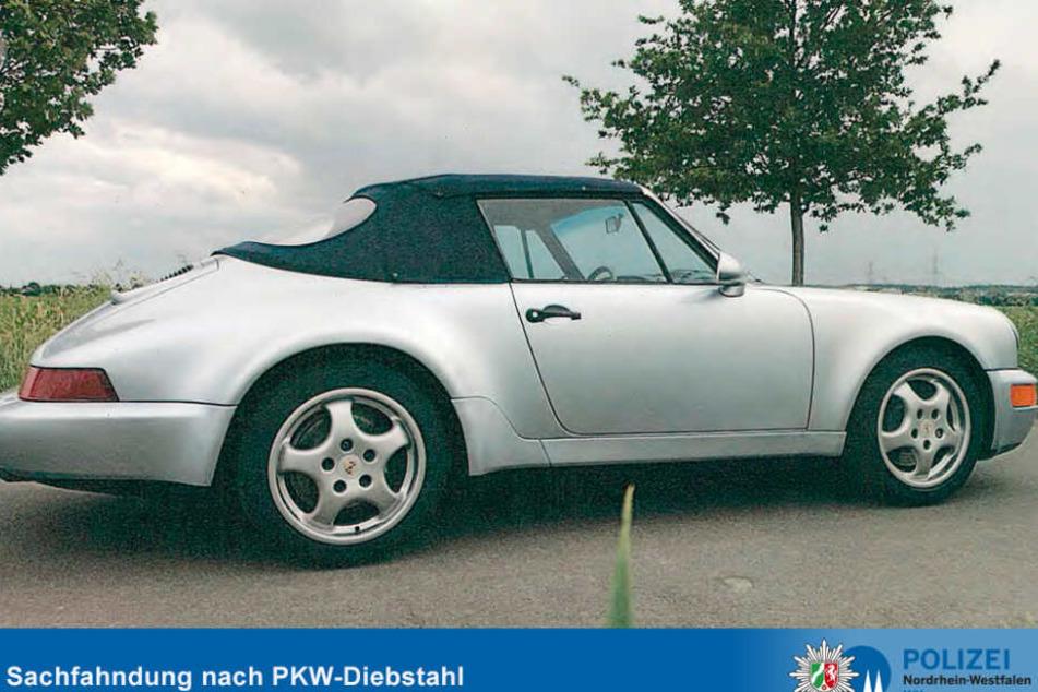 Ein weiterer Porsche 911 SC in silber wurde ebenfalls geklaut.