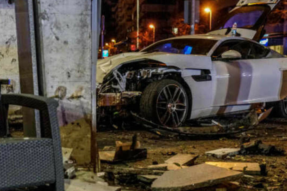 Der Jaguar war nur geliehen.