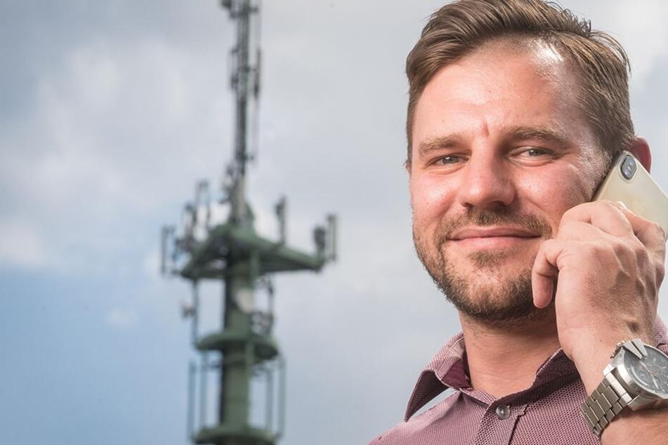 Chemnitz: Startschuss für 5G: Superschnelles Internet für Sachsen