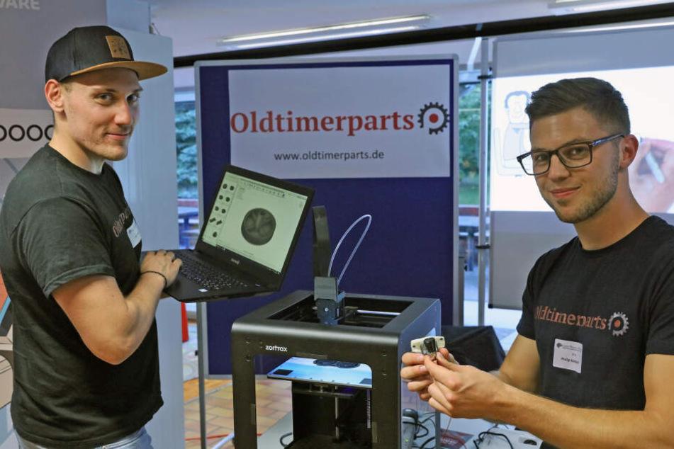 Voll in 3D! Erfinder drucken sich Ersatzteile für Oldtimer
