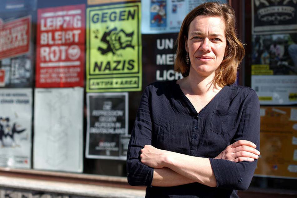 Linker CDU-Schreck: Juliane Nagel (40) will ihren Leipziger Wahlkreis wieder gewinnen.