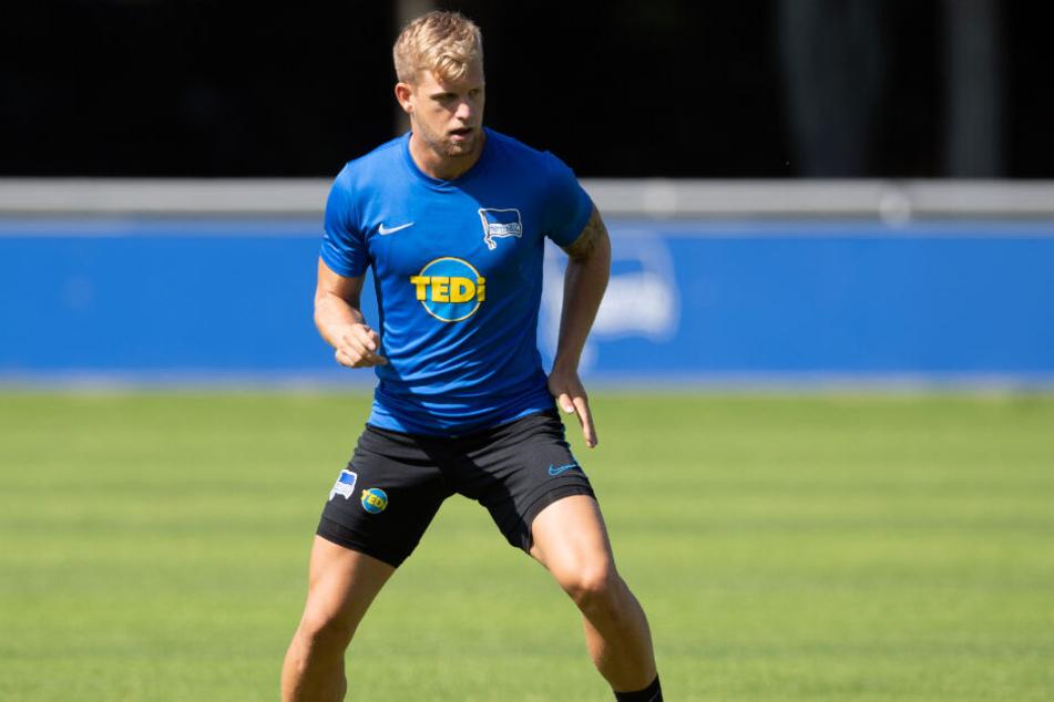 Arne Maier zog sich im September im Training einen Innenbandriss im linken Knie zu.