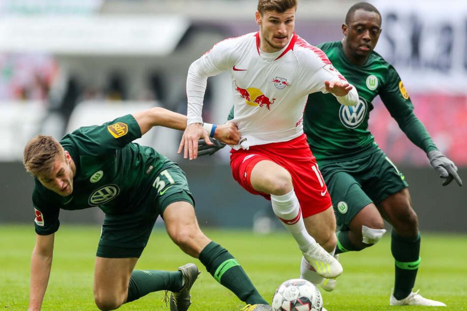 Timo Werner könnte RB Leipzig nun doch noch länger erhalten bleiben.