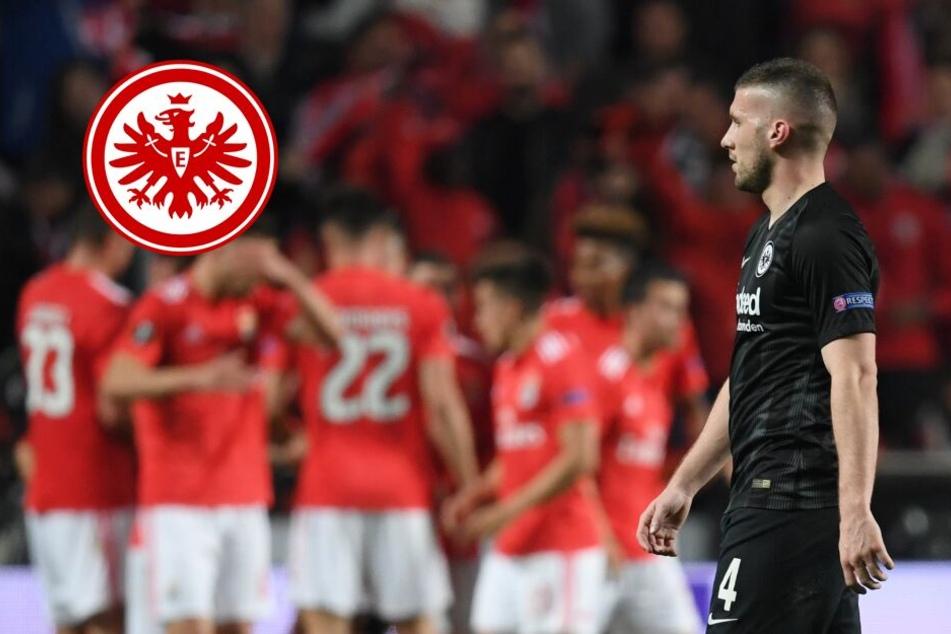 Verloren, aber voller Hoffnung: Eintracht unterliegt in Unterzahl bei Benfica
